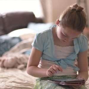 screen eyestrain in children